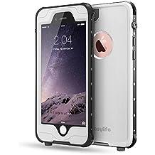 Funda Waterproof para Iphone6/6s,Easylife IP68 Impermeable Carcasa Anti-agua a Prueba deChoque(4.7 inch)(Blanco)