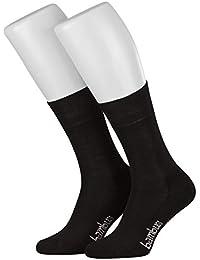 Tobeni trois paires de chaussettes avec éponge de bambou sans semelle en caoutchouc pour les hommes et les femmes