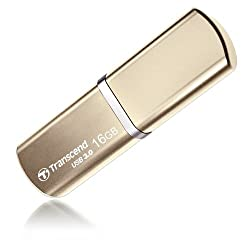 Transcend JetFlash 820 16GB Pen Drive (Gold)