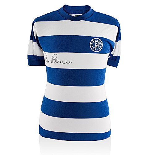Stan-Bowles-Hand-Signed-QPR-Shirt-Home