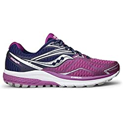 Saucony Zapatos Ride 9–mujer Purple/Pink/Silver Talla:38,5