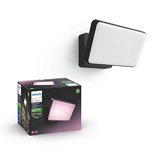 Philips Hue Discover Proyector exterior, luz blanca y de colores, comp