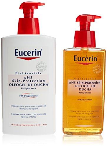 Eucerin Family Pack Ph5 Oleogel de Ducha 1000 ml y...