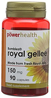 Power Health 150mg Bumbles Royal Gellee - Pack of 90 Capsules from Power Health Products Ltd