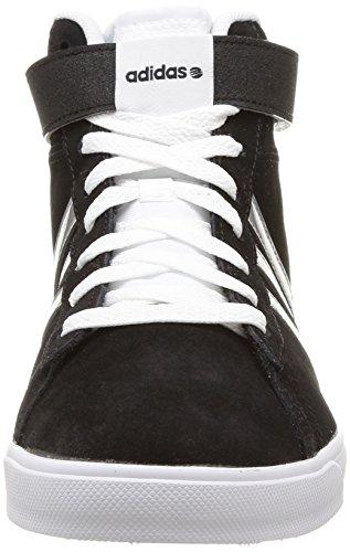 Adidas F97739, Chaussures de Basketball Femme Multicolore (Cblack/Msilve/Ftwwht)