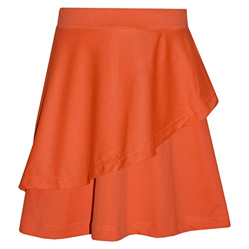 A2Z 4 Kids® Girls Skirt Kids Plain Fashion Dance Double Layer Party Skirts New Age 5 6 7 8 9 10 11 12 13 Years