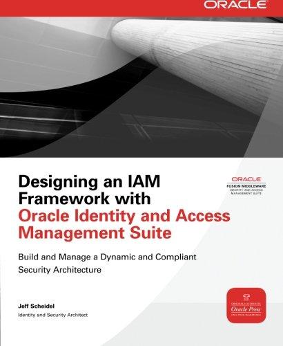 Preisvergleich Produktbild Designing an Iam Framework with Oracle Identity and Access Management Suite (Oracle Press) (Osborne Oracle Press Series)