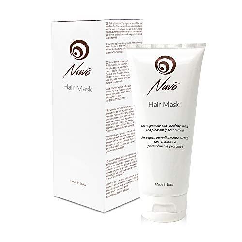 Nuvo' Masque pour Cheveux Bave d'escargot Enrichi à la Kératine Végétale Huile...