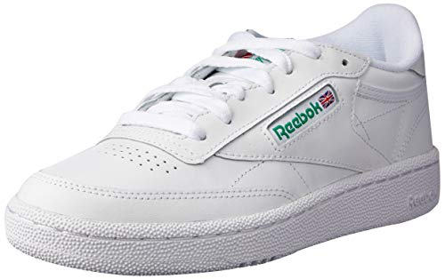 Reebok Club C 85, Deman Niedrig, Weiß (Int / White / Green), 38.5 EU -
