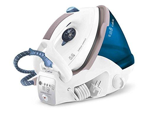 Calor GV7050C0 2200W 1.6L Suela Ultragliss Azul, Color blanco estación plancha al vapor -...