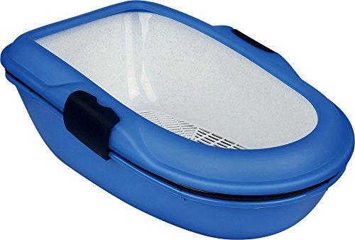 trixie-bano-para-gatos-berto-3-piezas-con-sistema-separacion-39x22x59cm-azul-claro-topo-granito