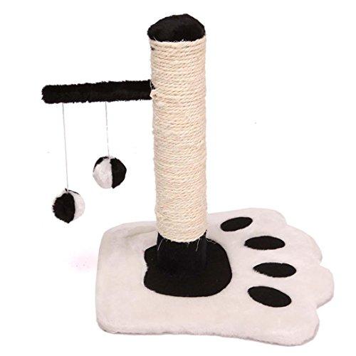 WSS Piccolo gatto arrampicata artiglio in legno telaio rettifica sisal