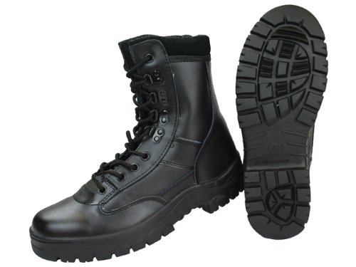 fa39f2ac1cfe Highlander Mens Delta Military Leather Lace Up Winter Walking Boots