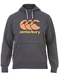 Logo CCC de Canterbury hombres sobre la cabeza con capucha, hombre, color gris, tamaño medium