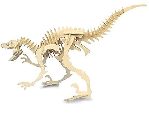Velociraptor QUAY Woodcraft Construction Kit