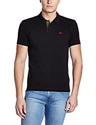 Levis Mens Polo (6902194221077_17474-0030_Small_Black)