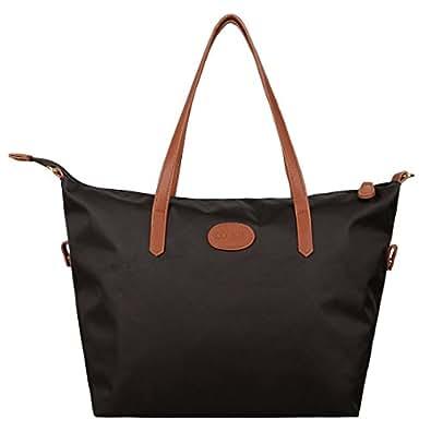 Ecosusi Borse a tracolla Shopping Bag da Donna Free Hand - Marrone