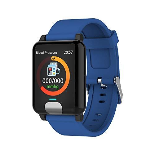 Fulltime E-Gadget Multifunktionales intelligentes Armband, Android 4.4 Smart Watch Armband Band Armband Pulsmesser Fitness Tracker (Blau)