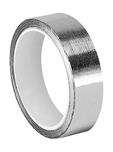 tapecase 3/4–6-1120Silber Aluminium-Klebeband mit ableitfähigem Acryl-Klebstoff, 1973von 3M 1120, 6Yd Länge, 1,9cm Breite, Rolle