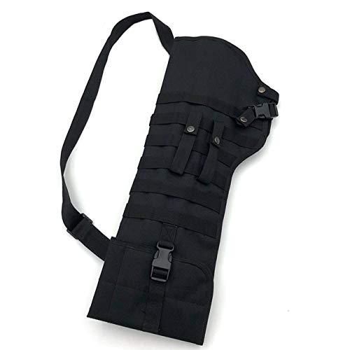 Elviray Outdoor Tactical Molle Umhängetasche Military Shoulder Sling Tragbare Gepolsterte Shotgun Nylon Rucksack Jagdtasche