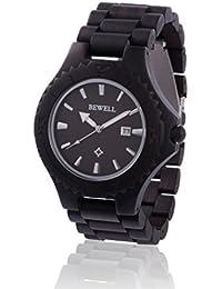 Reloj de madera ZEITHOLZ / Bewell REINHOLDSHAIN / Sándalo 100% / producto natural / peso pluma / hipoalergénico / sostenible / fácil de usar