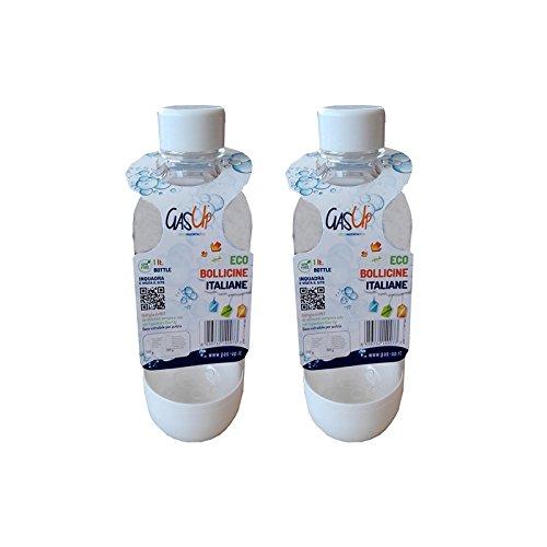 Gas-Up 2 Bottiglie da 1 lt. per gasatore
