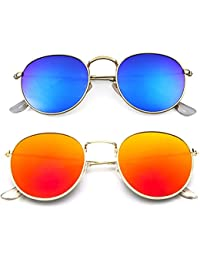 e5af7aecb55 Younky Offers Combo Pack Of 2 Stylish Branded Sunglasses For Men Women Boys    Girls (