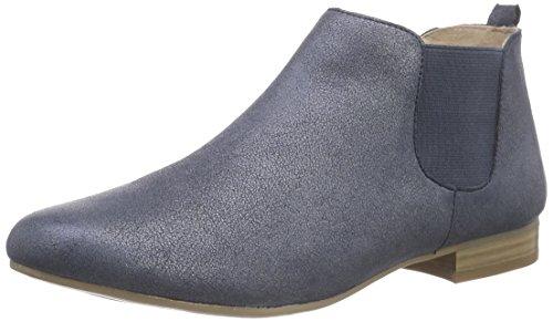Caprice 25301, Damen Chelsea Boots, Blau (Blue Metallic 892), 40 EU (6.5 Damen UK) (Kalb Weit Boot)