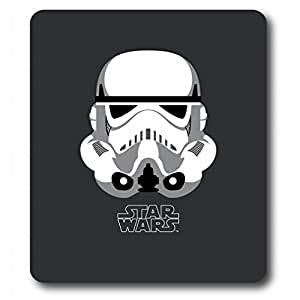star wars fleecedecke stormtrooper helmet decke grau k che haushalt. Black Bedroom Furniture Sets. Home Design Ideas