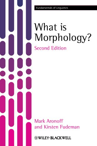 What is Morphology? (Fundamentals of Linguistics) por Mark Aronoff