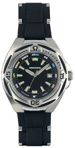 Immersion IM6965 Gents Watch Quartz Analogue Black Dial Black Plastic Strap