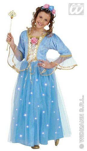 Kinder-Kostüm-Set Fiberoptik-Feenkönigin, Größe (Kostüme Mädchen Last Für Minute)