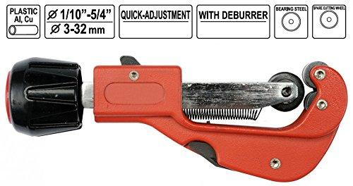 Rohrschneider 3-32 mm für weiche Metalle und Kunststoff