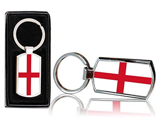 VVM Tech Llavero Rectangular Diseño Bandera Inglaterra