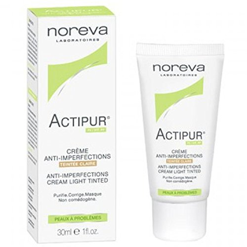 Noreva Actipur Anti-Imperfections Cream Tinted 30ml - Tint : Light