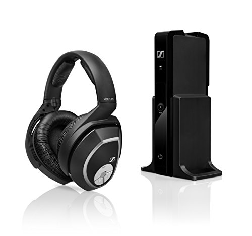 Sennheiser RS 165 Cuffia Wireless, Tecnologia Digitale, Nero