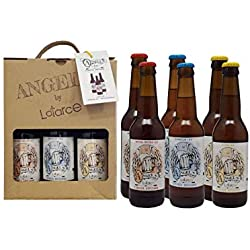 Cervezas Artesana Latarce | Pack Cartón Mix 6 Cervezas Angel's by Latarce | Cervezas Artesanas