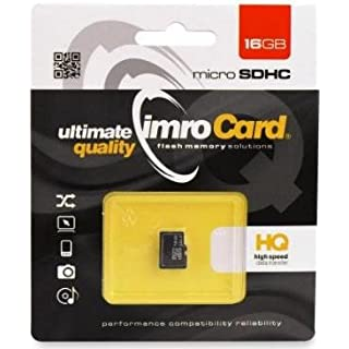 16GB Micro SDHC UHSI Class 10 Secure Digital Memory Card