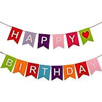Suchergebnis Auf Amazon De Für Buchstaben Girlanden Happy