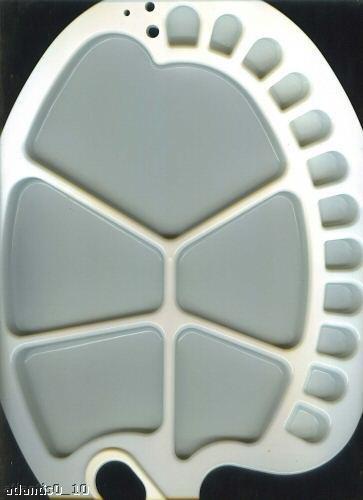 Mischpalette 17 Mulden Kunststoff