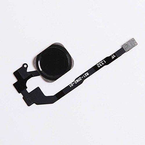 All Gadget Ersatz-Flexkabel für Home-Taste, Weiß und Schwarz, 2 Farben erhältlich für iPhone 5 5S 5S 5S 5S 5S 5S 6 6S 6 Plus 6SPlus Oem Home-taste