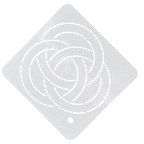 hablonen Vorlage Patchwork Stickerei Acryl Quilt Basteln - muster5, one size ()