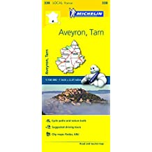 Michelin FRANCE Aveyron, Tarn Map 338 (Maps/Local (Michelin)) by Michelin Travel & Lifestyle (2016-04-07)