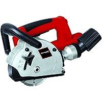 Einhell 4350730 - Rozadora (diámetro de disco 125 mm, 9000 rpm, 1320 W, 230 V), color rojo y negro
