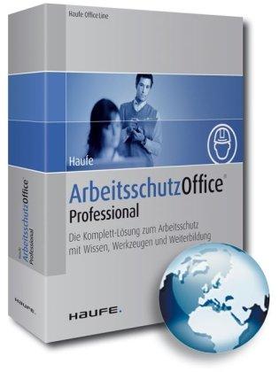 Haufe Arbeitsschutz Office Professional, DVD Das Komplett-Paket zum Arbeitsschutz mit Wissen, Werkzeugen und Weiterbildung