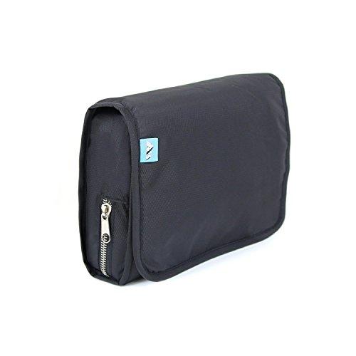 Nécessaire de toilette Smartpacker avec poche pratique pour portables avec lumière pour les voyages et autres activités
