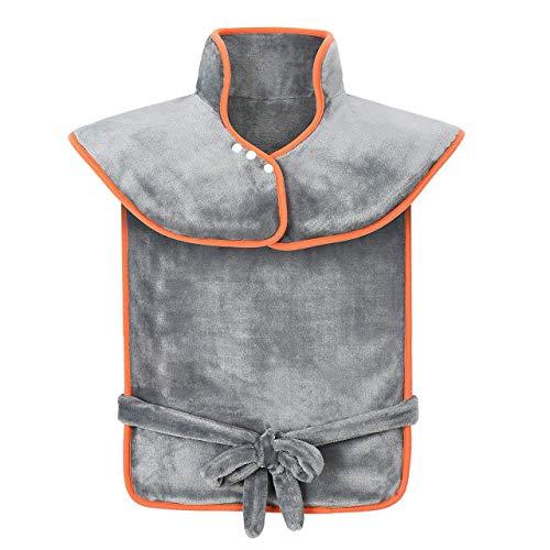 Termoforo elettrico cervicale e spalle, rimedio dolori cervicali e contratture muscolari,scaldacollo elettrico con 3 impostazioni di calore, cuscini termici elettrici, riscaldamento rapido, lavabile