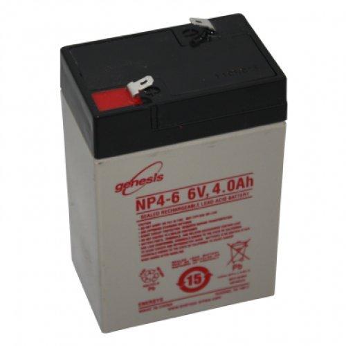 Hawker Enersys Genesis accumulatore accumulatore di piombo piombo Pb gel di piombo 6V 4000mAh NP4–6Faston 4.8mm