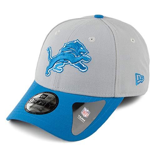 Casquette 9FORTY The League Detroit Lions Gris-Bleu New Era - Ajustable