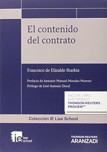 Contenido del contrato,El (Monografía)